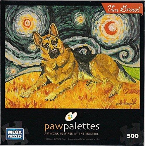 """Paw Palettes """"Van Growl"""" 500 Pieces Mega Puzzles"""