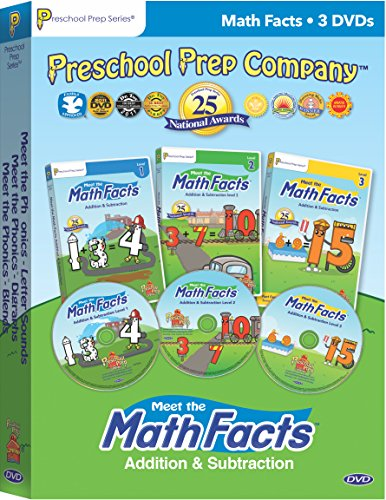 Meet the Math Facts 3 DVD Boxed Set
