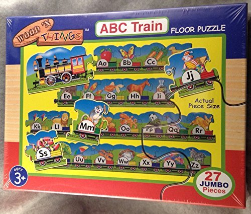 Awardpedia Alphabet Train Puzzle