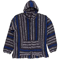 Baja Joe Striped Woven Eco Friendly Hoodie by Earth Ragz
