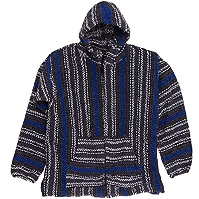 Baja Joe Striped Woven Eco Friendly Hoodie