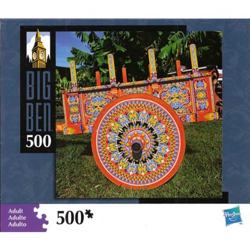 Big Ben 500 pc. Puzzle - Colorful Cart