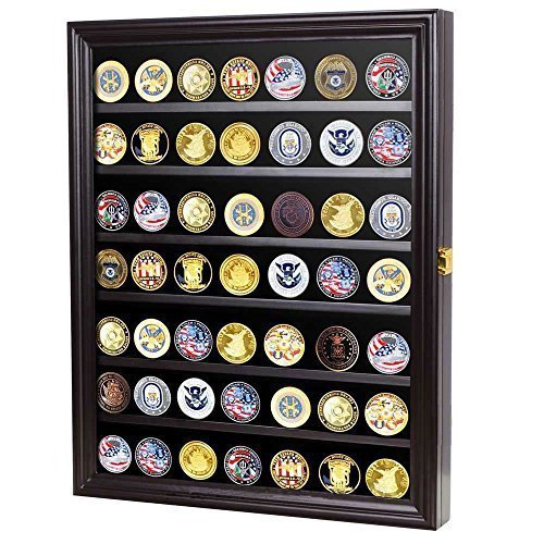 56 challenge coin casino chip display case cabinet holder shadow 56 challenge coin casino chip display case cabinet holder shadow box glass door black coin56 bl planetlyrics Gallery