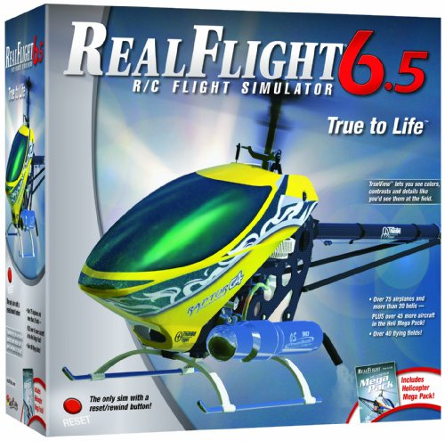 Great Planes RealFlight 6.5 Heli Edition Mode 2 with InterLink