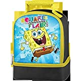 Thermos Sponge-Bob Dual Compartment Lunch Kit - Square With Flair