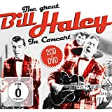 The Great Bill Haley In Concert. 2CD+DVD