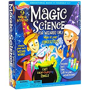 Scientific Explorer Magic Science for Wizards Only Kit and Sci Fi Slime, 2-Piece Bundle