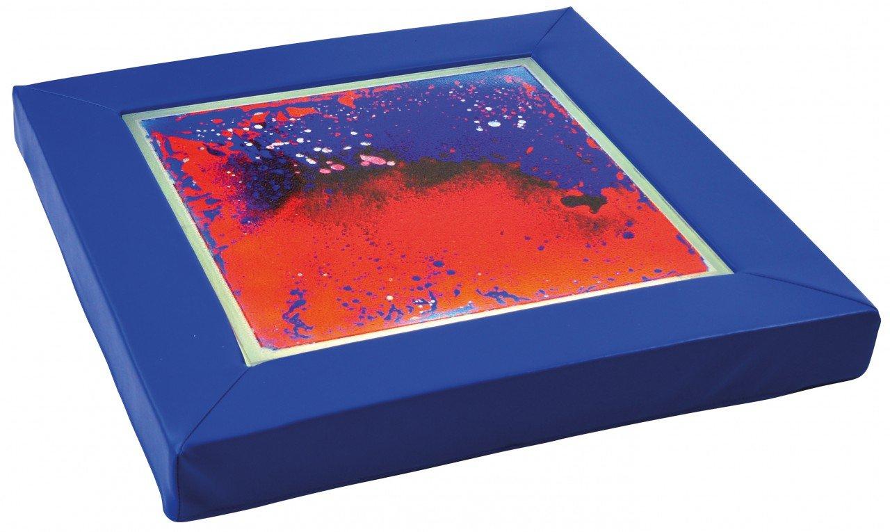 Faszinationspanel blau-rot / Lichtplatte mit Schaumstoffrahmen + Netzteil / Maße: 70 x 70 x 7 cm / Lichtplatte 50 x 50 cm / Belastbar bis 300 günstig