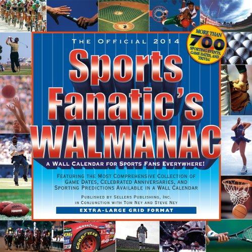 Sports Fanatic Walmanac 2014 Calendar