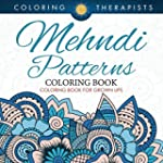 Mehndi Patterns Coloring Book - Color...