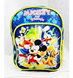 Mini Backpack - Disney - Mickey Mouse & Friend Blue 10