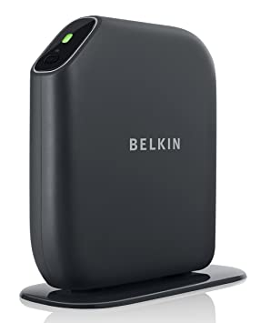 Belkin Play Wireless - Router (100 Mbit/s, 300 Mbit/s, Mobile network (USB), IEEE 802.11a, IEEE 802.11b, IEEE 802.11g, IEEE 802.11n, 253 usuario(s), TCP/IP, Dynamic, Static, PPOE, Telstra BigPond) Negro