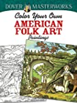 Color Your Own American Folk Art Pain...