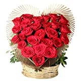IGP Heart Shape of Twenty Five Red Roses Heart Shaped (Bunch of 25)