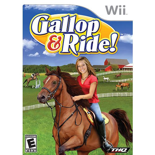 Gallop & Ride - Nintendo Wii front-777115