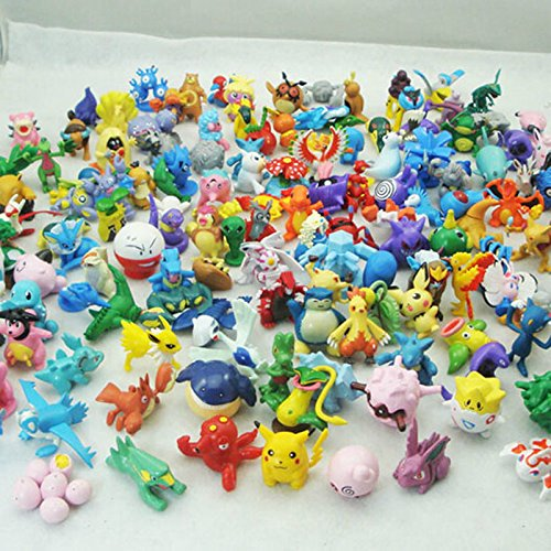 Hot Sale 24pcs Mini Lovely Lots 2-3cm Pokemon Mini Random Pearl Figure GO (Pokemon Omega Ruby Card Binder compare prices)