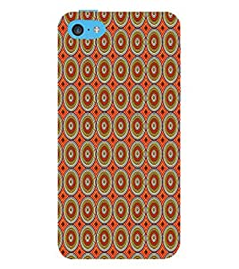 Abstract Painting 3D Hard Polycarbonate Designer Back Case Cover for Apple iPhone 5C