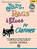 img - for Jazz, Rags & Blues for Clarinet: Book & CD book / textbook / text book