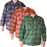 Men's Chunky Conwy Thermal Quilted Padded Winter Shirt