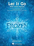 Demi Lovato - Let It Go (from the movie Frozen) - Sheet Music Single