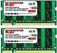 Komputerbay 8GB (2x 4GB) PC2-6400 DDR2 800MHz SODIMM Dual Channel Laptop-Speicher-Kit