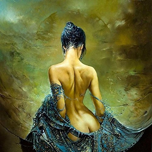 Printed Sexy Lady Angel Naked Oil Painting on Canvas Wall Art Pictures for Living Room Home or Salon Decorations