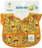 Bumkins Disney Baby Waterproof Starter Bib, Pooh Bear Woods, 6-9 Months