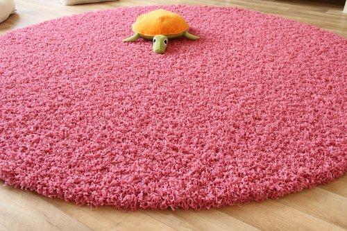 Hochflor teppich shaggy rosa - Rosa teppich ikea ...
