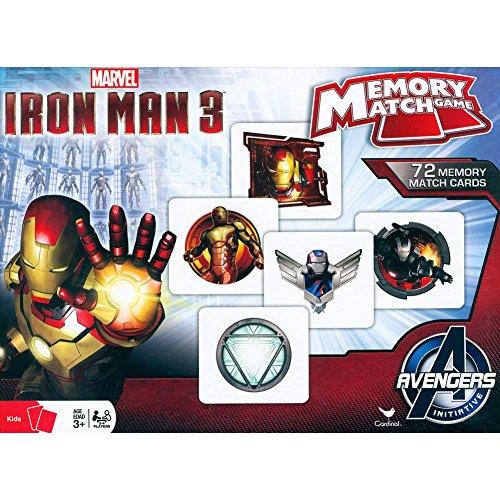 Iron Man Memory Match Game - 1
