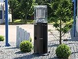Traedgard® Heizstrahler Kompakt Midi schwarz