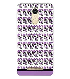 PrintDhaba Kitty Pattern D-1741 Back Case Cover for XIAOMI REDMI NOTE 3 PRO (Multi-Coloured)
