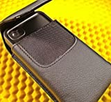 Leather Carrying Case / Belt Holster Clip for Lifeproof Water Proof Iphone 5 Case