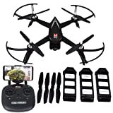 Blomiky B5W Mjx Bugs 5W GPS RC Quadcopter Drone with 1080P FPV WiFi Camera Follow Me Waypoint of Interest, Black (Color: Black)