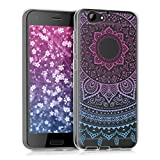 kwmobile Crystal Case Hülle für HTC One A9s aus TPU