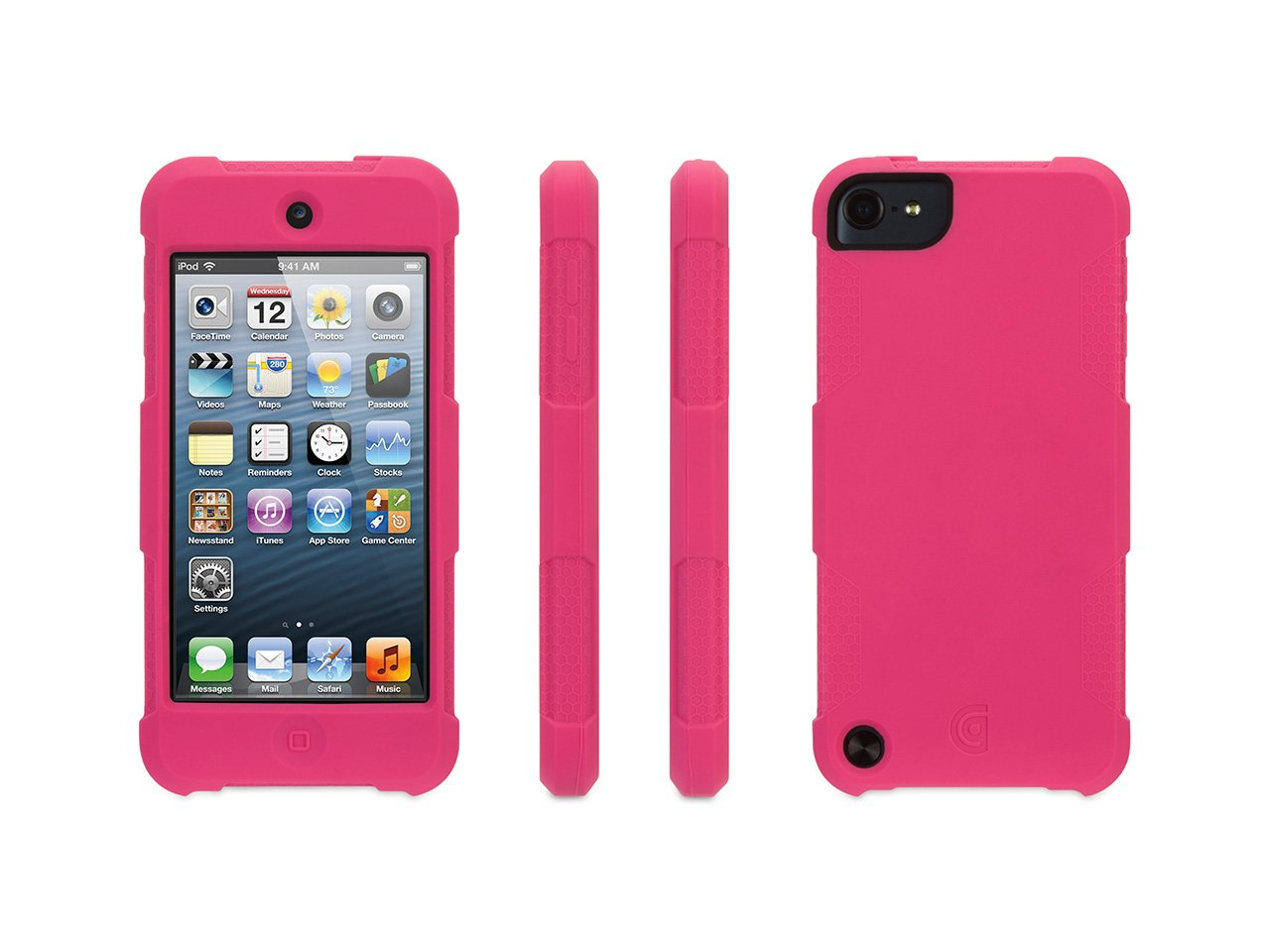 Survivor Skin for iPod touch (5th gen.), hot pink
