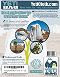 Frost Blanket Protection for Trees, Plants and Shrubs. 3' Diameter X 30' Frost Cloth Tube. Cover Up To Five Trees*. Cut to Length or to Lay Flat.