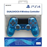 Sony Dualshock 4 Wireless Controller for PlayStation 4 -  Blue Crystal - PlayStation 4 (Color: Blue Crystal)