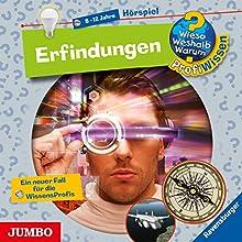 Erfindungen (Wieso? Weshalb? Warum? ProfiWissen) Hörspiel von Dela Kienle, Jochen Windecker Gesprochen von:  div.