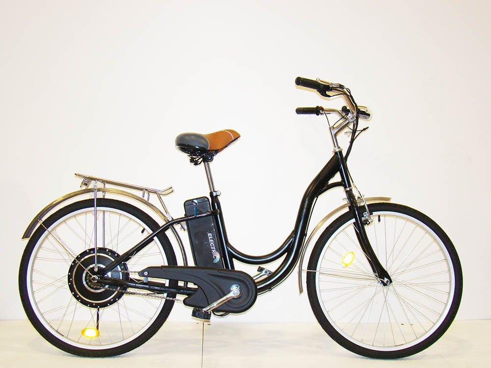 Sencilla y barata bicicleta eléctrica