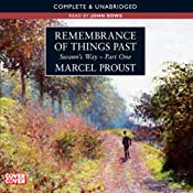 Remembrance of Things Past: Swann's Way, Part 1 | Marcel Proust