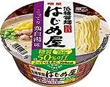 明星 低糖質麺 はじめ屋 糖質50%オフ こってり鶏白湯味 82g×12個 ×2セット