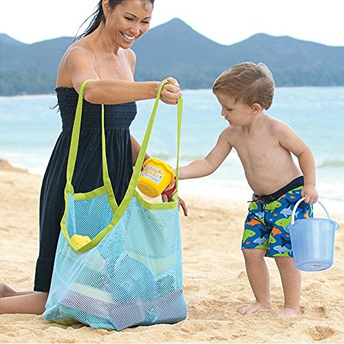 sand-away-beach-mesh-bag-tote-tune-up-swim-toys-boating-etc-stay-away-from-sand-mesh-bag-blue