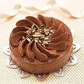 ふんわりしっとり チョコレートケーキ『フラワーショコラ』5号 バースデーケーキ 誕生日ケーキ