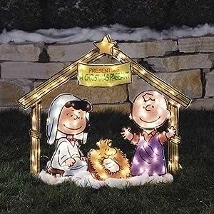 ... Christmas Pageant Yard Art Decoration: Amazon.co.uk: Garden & Outdoors