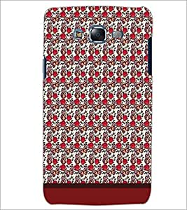 PrintDhaba Butterfly Pattern D-1606 Back Case Cover for SAMSUNG GALAXY J7 (Multi-Coloured)