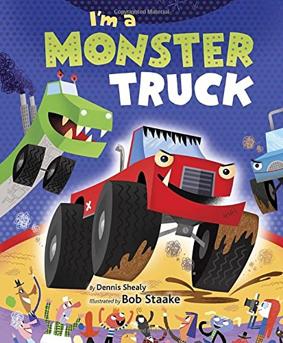 I'm a Monster Truck (Little Golden Board Book)