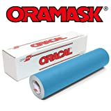 Oramask 813 Stencil Film 12.125 Inches x 50 Foot Roll for cricut, Silhouette, Cameo, Craft Cutters (Tamaño: 12