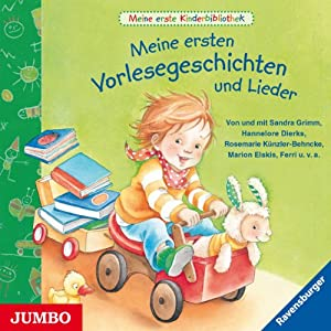 Meine ersten Vorlesegeschichten und Lieder (Meine erste Kinderbibliothek) Hörbuch