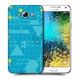Snoogg Yoga Run Love Printed Protective Phone Back Case Cover ForSamsung Galaxy E7