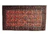 Antique Persian Maharajan Sarouk Full Pile Oversize Rug (12'3